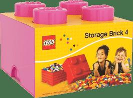 LEGO® Úložný box velikost 3 růžová