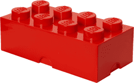 LEGO® Box do przechowywania rozmiar 4 czerwony