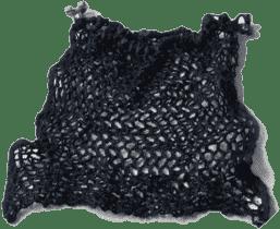 REER Nákupný sieťka na rukoväť čierna