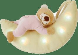 ANSMANN Plyšové zvířátko se světýlkem – medvídek na měsíci