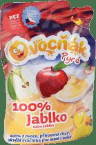 OVOCŇÁK Pyré jablko 100% 200ml - ovocné pyré