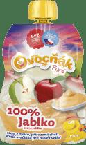 OVOCŇÁK Pyré jablko 100% 120g - ovocné pyré