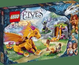 LEGO® Elves Lávová jeskyně ohnivého draka