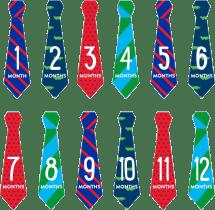 PEARHEAD Súprava nálepiek kravaty