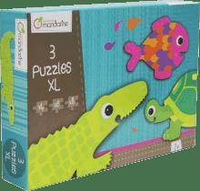 AVENUE MANDARINE Puzzle Krokodíl a kamaráti