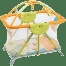 CAM Ohrádka BREVETTATO s hracou dekou a hrazdou - mochomůrka