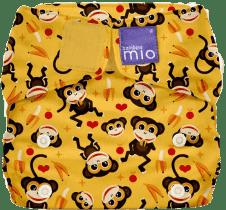 BAMBINO MIO Materiałowa pieluszka all in one - Miosolo Cheeky Monkey