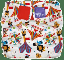 BAMBINO MIO Materiałowa pieluszka all in one - Miosolo Circus Time