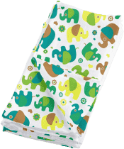 BAMBINO MIO Látkové mušelínové plienky 4ks - Elephant Parade