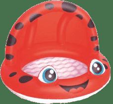 BESTWAY Nafukovací bazén se stříškou, průměr 97 cm x 66 cm – červený