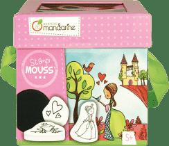 AVENUE MANDARINE Dětská razítka s omalovánkami - Princezny