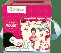 AVENUE MANDARINE Detské pečiatky s omaľovánkami Tanečnice