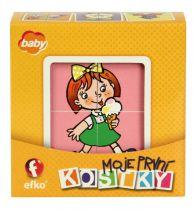 EFKO Moje první kostky - Holky BABY
