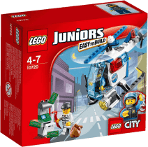 LEGO® Juniors Pronásledování s policejní helikoptérou