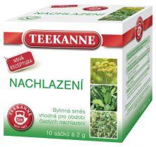 TEEKANNE bylinný čaj - prechladnutie, 10 sáčkov
