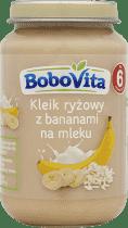 BOBOVITA Kleik ryżowy z bananami na mleku (190g)