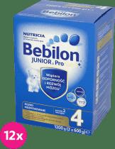 12x BEBILON Junior 4 (1200g)