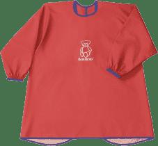BABYBJÖRN Zásterka na kŕmenie a hranie Smock Red
