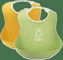 BABYBJÖRN Podbradníky mäkké 2 ks zelený / žltý