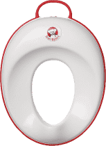BABYBJÖRN Adaptér na WC – White/Bright Red