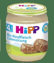 HIPP BIO detský príkrm Hovädzie mäso 125g