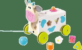 SCRATCH Vkladacie kravička s tvarmi