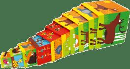 SCRATCH Skládací pyramida Zvířátka
