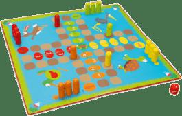 SCRATCH Stolová hra Zahrádka 2v1