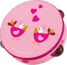 SCRATCH Tamburína Ptáčci