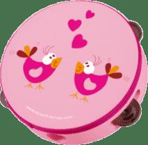 SCRATCH Tamburína Vtáčiky