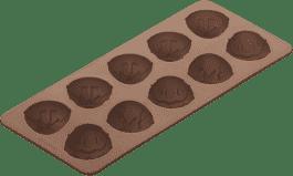 TESCOMA Foremki do czekoladek, DELICIA, silikon, wielkanocne jajka
