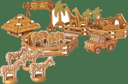 TESCOMA Perníkové Safari DELÍCIA, súprava vykrajovátok