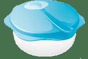 TESCOMA Podróżna miska z łżeczką BAMBINI - niebieska