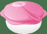 TESCOMA Cestovní miska se lžičkou BAMBINI - růžová