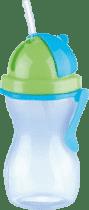 TESCOMA Dětská láhev s brčkem BAMBINI 300 ml - kluk