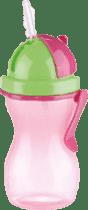 TESCOMA Dětská láhev s brčkem BAMBINI 300 ml - holka