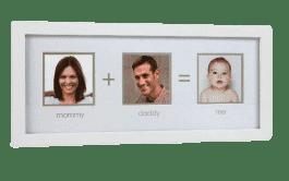 PEARHEAD fotoramka Mama, Tata i Ja