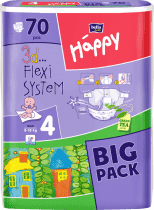 BELLA HAPPY Maxi (8-18 kg) Big Pack 70ks - plienky pre deti
