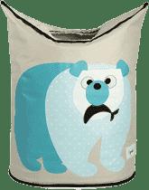 3 SPROUTS Koš na prádlo Polar Bear