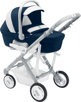 CAM Wózek PULSAR, nadmuchiwane koła – niebieski