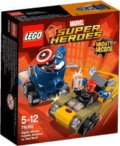 LEGO® Super Heroes Mighty Micros: Kapitán America vs. Red Skull