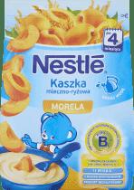 NESTLÉ Kaszka mleczno-ryżowa morela (230g)