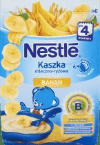 NESTLÉ Kaszka mleczno-ryżowa banan (230g)
