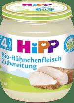 HIPP BIO kuřecí maso (125 g) - masový příkrm