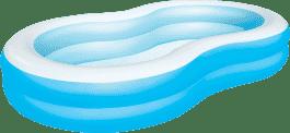 BESTWAY Nafukovací bazén laguna modrý - 262 x 157 x 46 cm