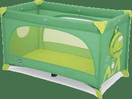 CHICCO Cestovní postýlka Easy Sleep 15 – green jam