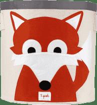 3 SPROUTS Kosz na zabawki Fox