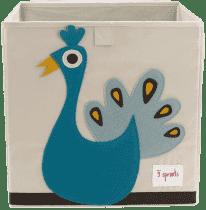 3 SPROUTS Úložný box Peacock