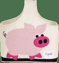 3 SPROUTS Torba na akcesoria dla dziecka Pig