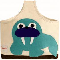 3 SPROUTS Taška na kojenecké potřeby Walrus